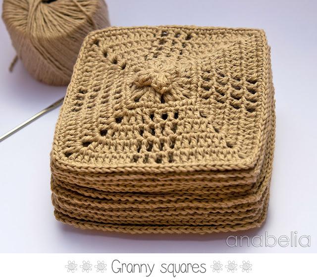 Granny squares made by Anabelia Handmade
