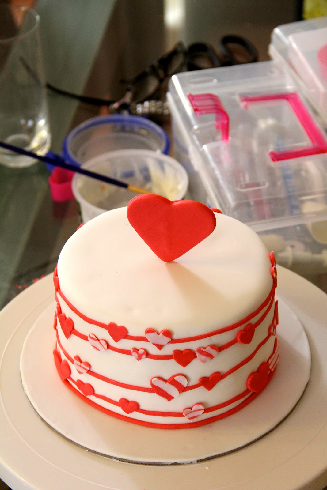Bakerz Dad: Love is in the air - Valentine s Day Cake