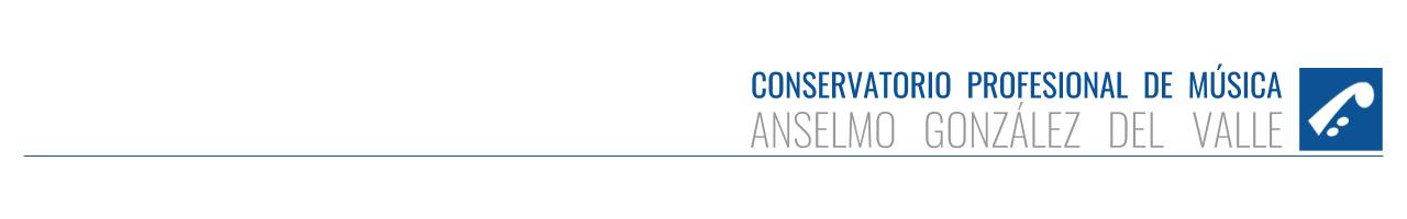 """Conservatorio Profesional de Música """"Anselmo González del Valle"""" - Oviedo"""