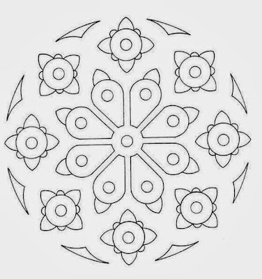 Spring Mandala Coloring Pages Printable