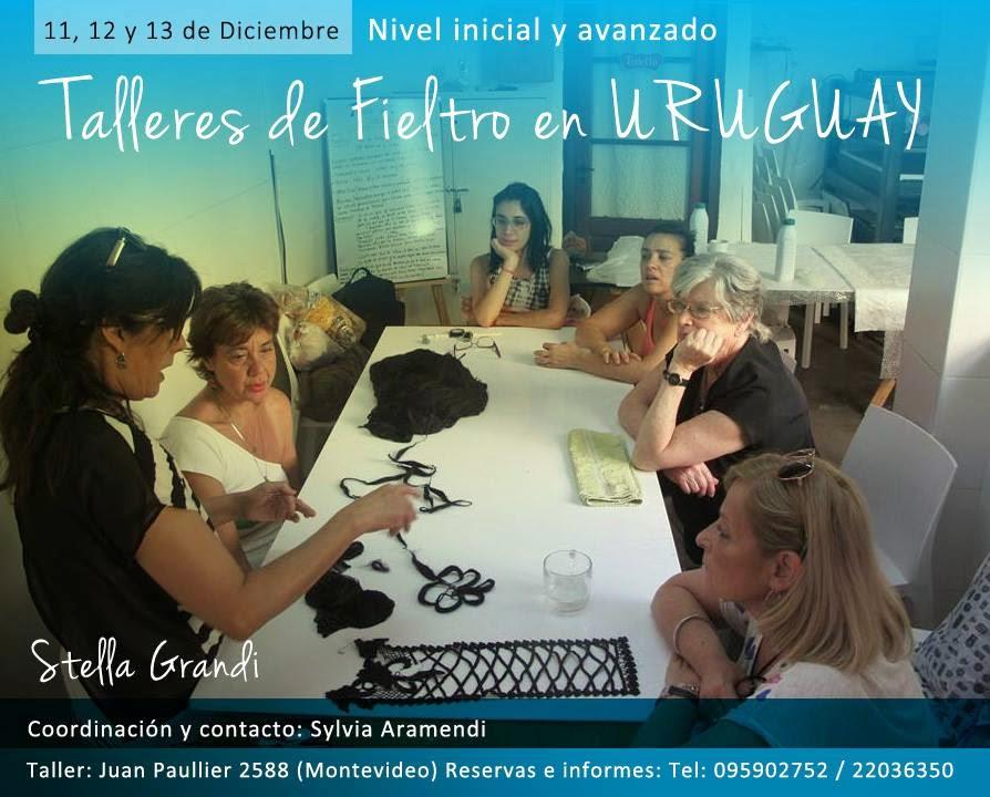TALLERES DE FIELTRO EN MONTEVIDEO - URUGUAY / Stella Grandi