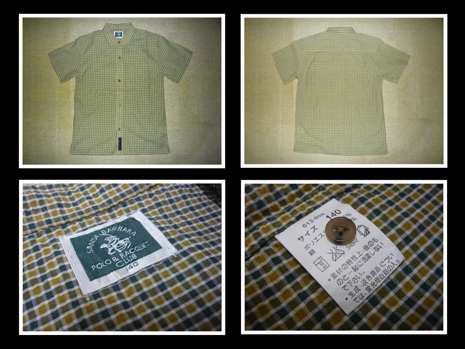 Mudskipper 39 s used goods santa barbara polo button down shirt for Santa barbara polo shirt