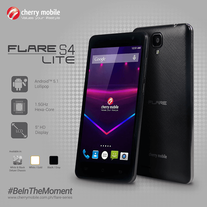 Cherry Mobile Flare S4 Lite official