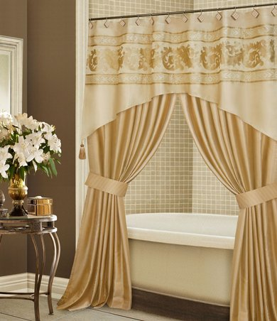 How To Enjoy A Splendid Bathroom D Cor With Shower Curtains Curtains Design