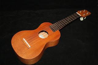 Rob Collins N'Ukefest ukulele prize