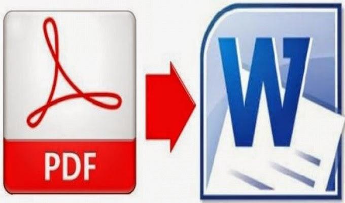 افضل ثلات برامج لتحويل ملفات PDF إلى Word
