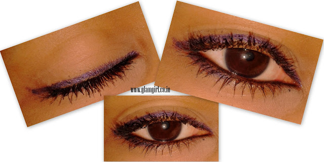 FACES LONG WEAR EYE PENCIL IN PURPLE REVIEW