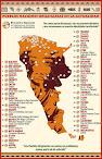 Mapa Pueblos-Naciones Originarias en la actualidad