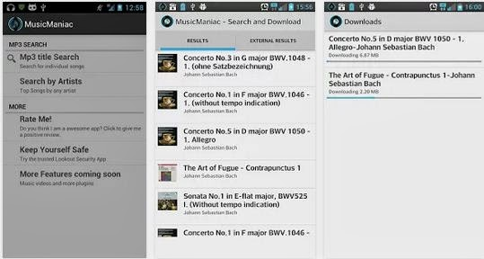 best music downloader for android Music Manic