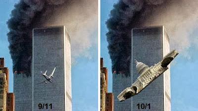 Атака террористов и атака конгрессменов. 9 11 и 10 1. Математика для блондинок.