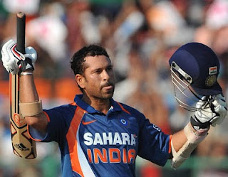 God of cricket Sachin Tendulkar