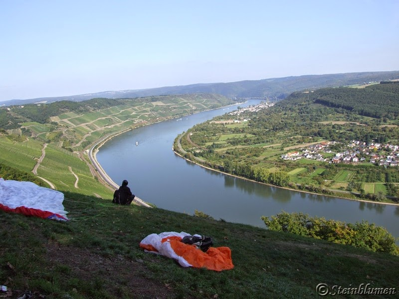 Gleitschirmfliegen Mittelrhein