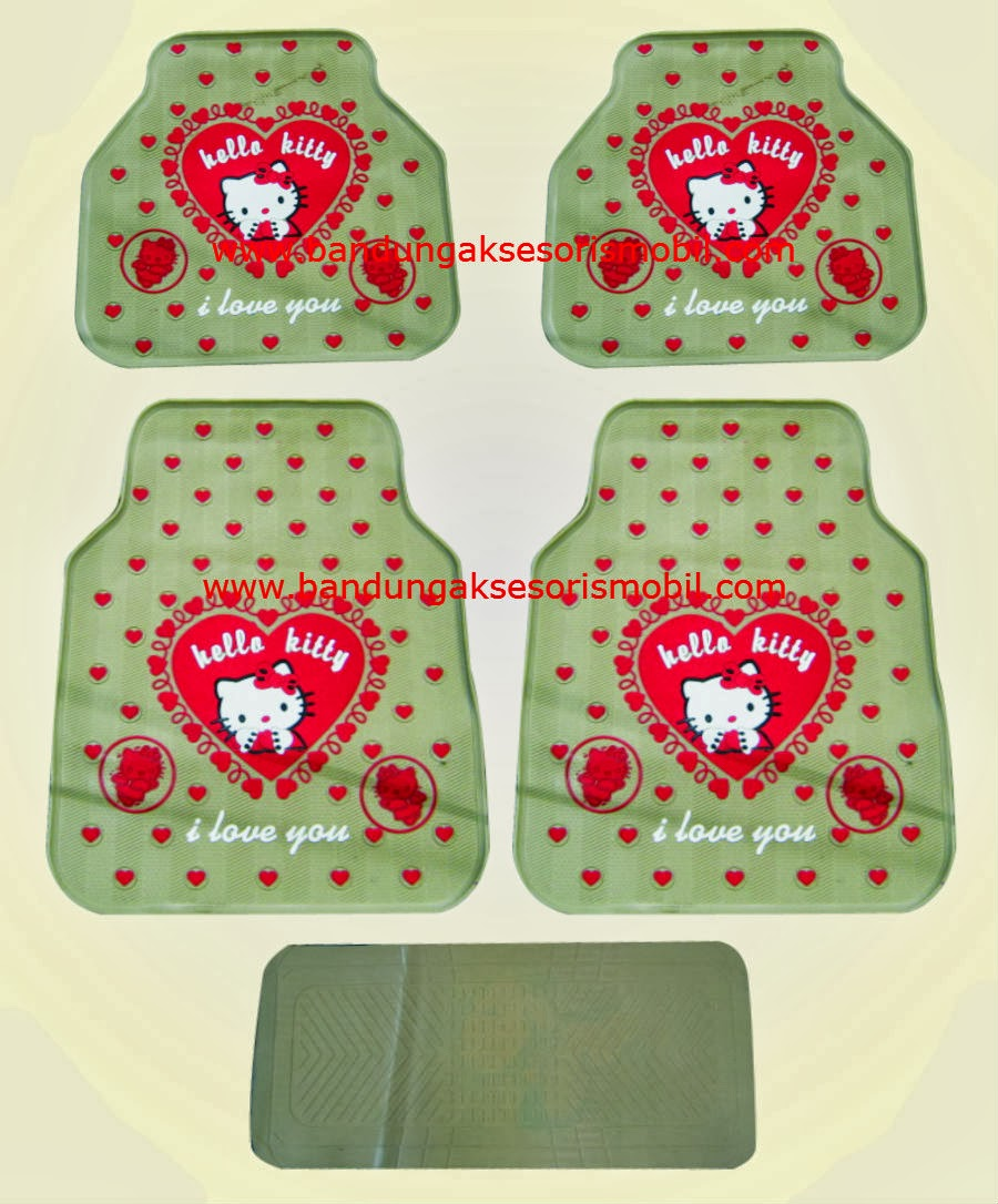 Karpet Hello Kitty 1 Love Cream
