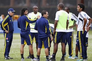 Con 22 jugadores Colombia cumplió su segundo día de entrenamientos