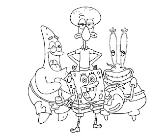 #5 Mr Krabs Coloring Page