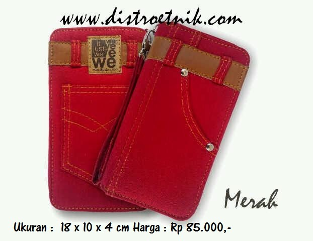 dompet jeans it just we classic series merah