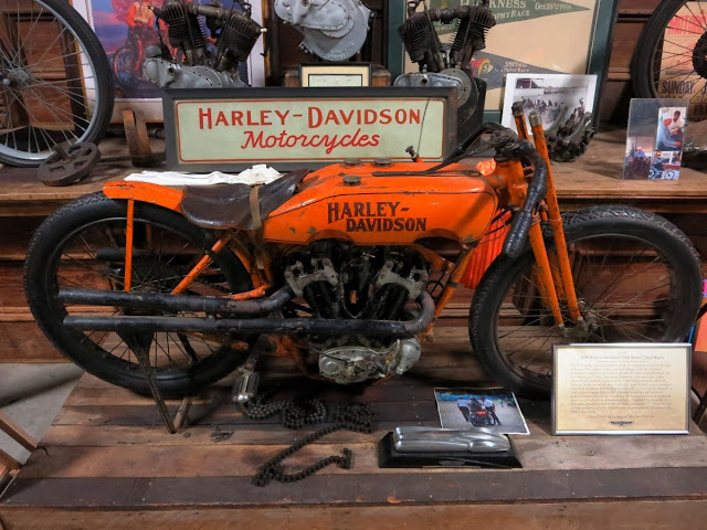 Competition Harley Davidson Wheels Through Time