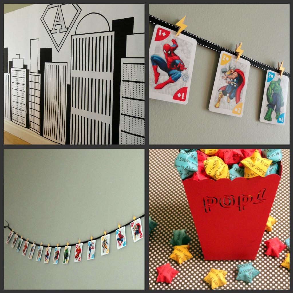 Superhero Bedroom Decor