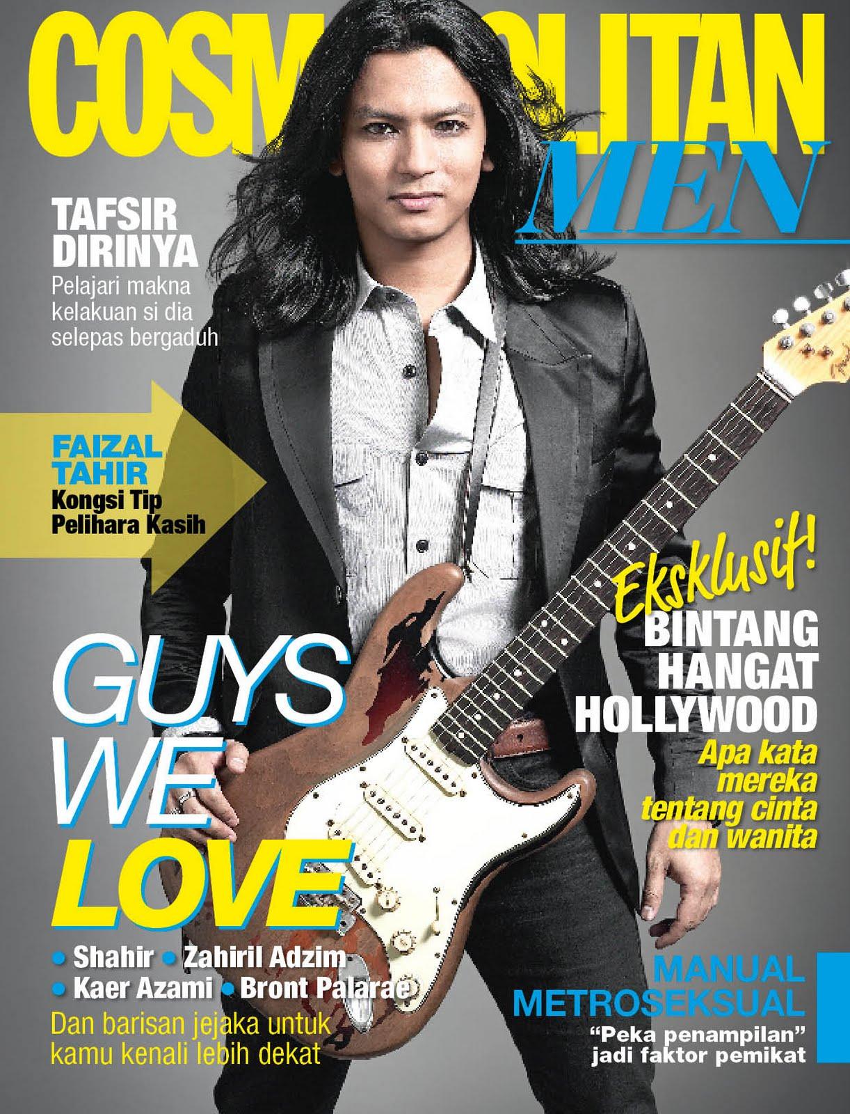Faizal Tahir Cover Cosmopolitan Magazine Malaysia