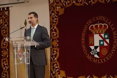 King Felipe VI and Queen Letizia inaugurated the University of Castilla-La Mancha (UCLM).