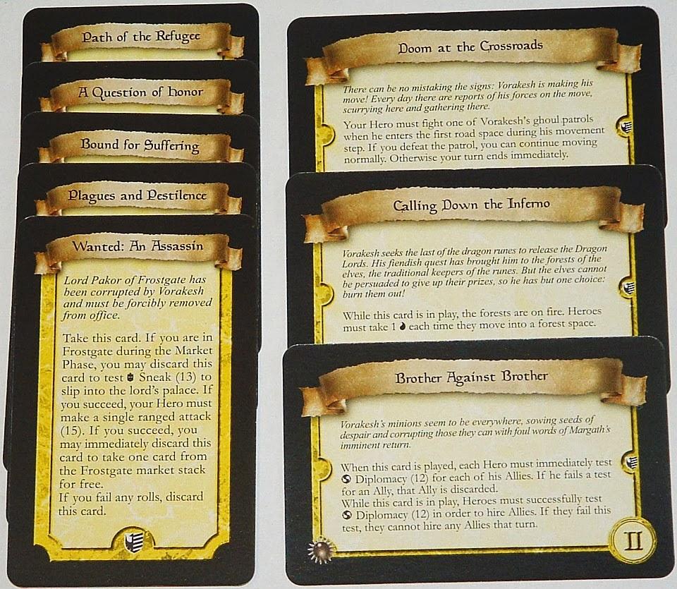 Runebound - Otros Eventos