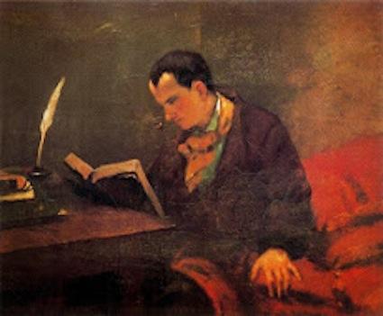 Courbet. Baudelaire, 1847