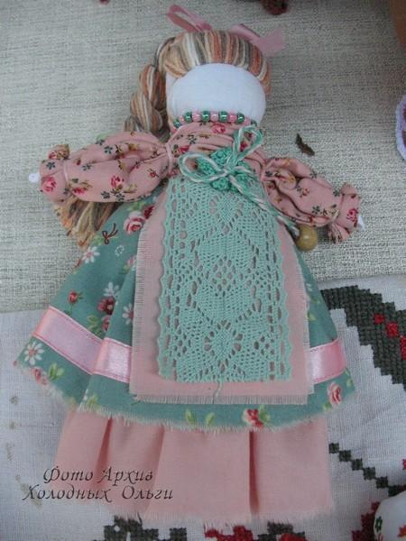 Тряпичные куклы 4