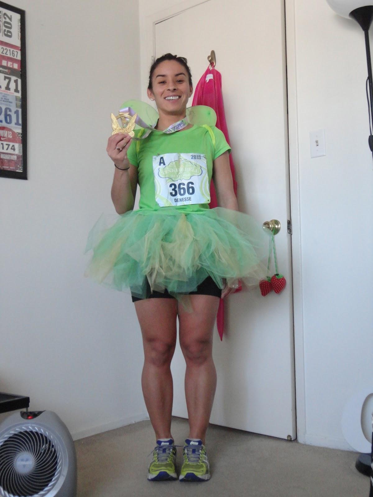sprint. run. jog: How to make a Tinkerbell costume