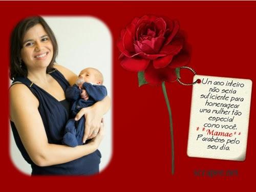 Dia das mães..Primeiro dia das mães Aline....