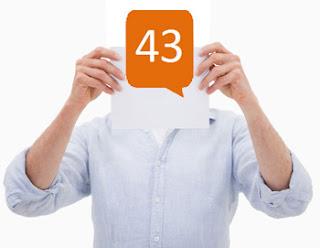 Klout-Score 43