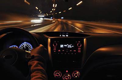 cum sa conduci noaptea