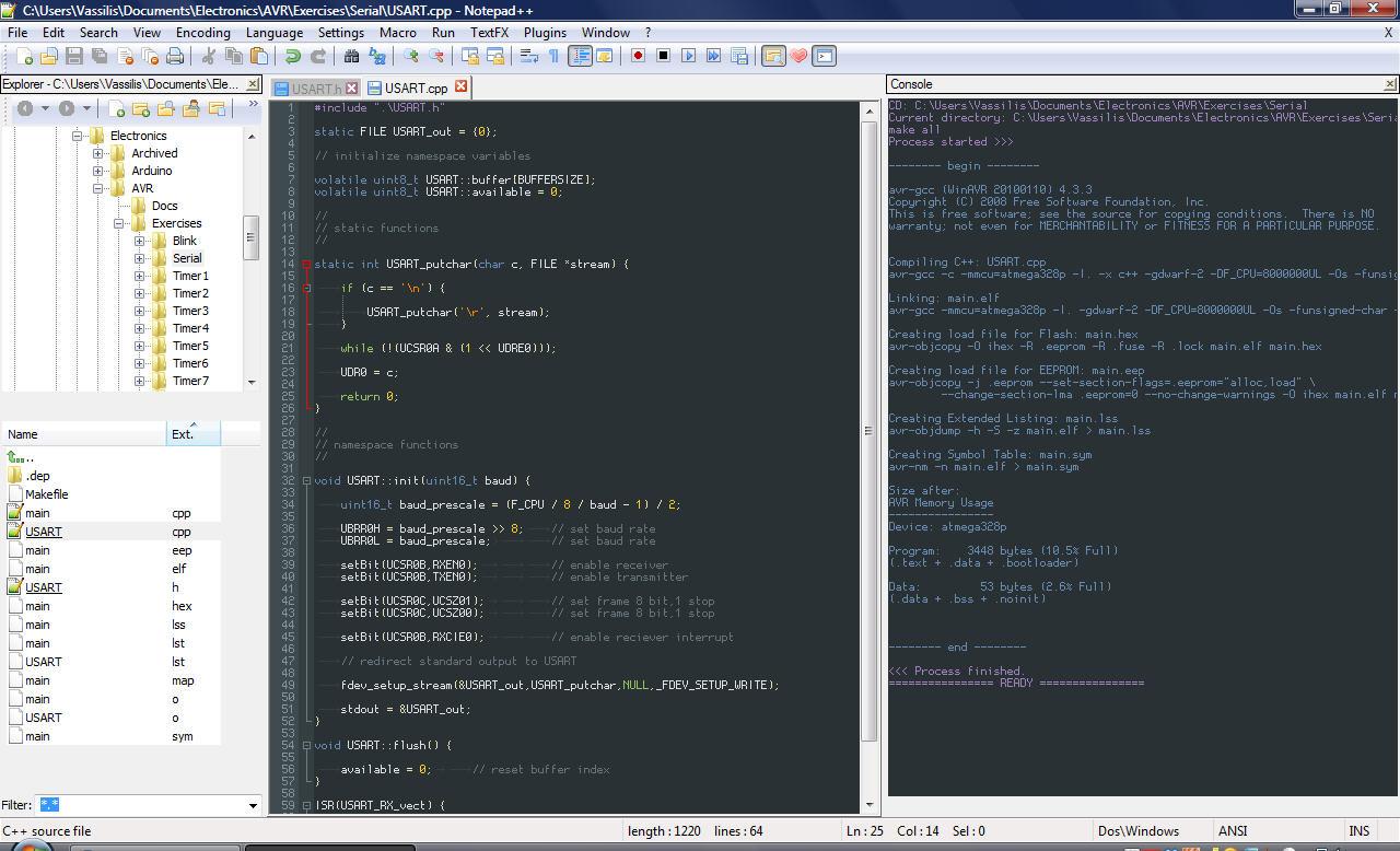 Using Eclipse with Arduino Duemilanove Chipkin