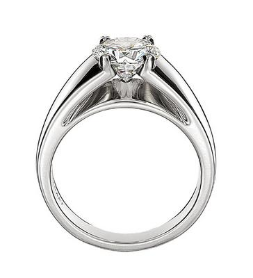 Bulgari Marryme Platinum Engagement Ring