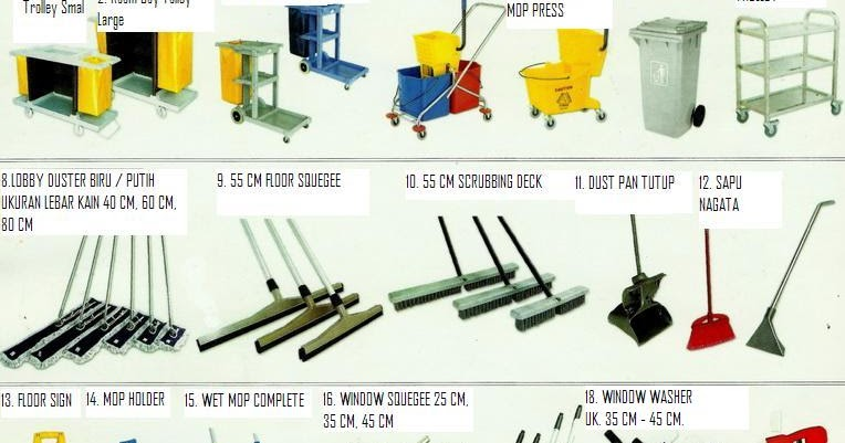 housekeeping equipment di bali  jual alat kebersihan
