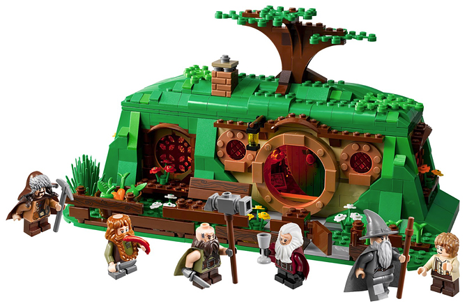 la geekitude des choses cul de sac le premier set lego pour bilbo 79003 bag end. Black Bedroom Furniture Sets. Home Design Ideas