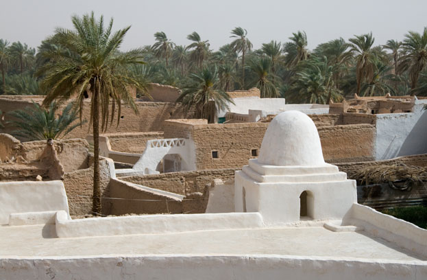 the ancient town of Ghadames