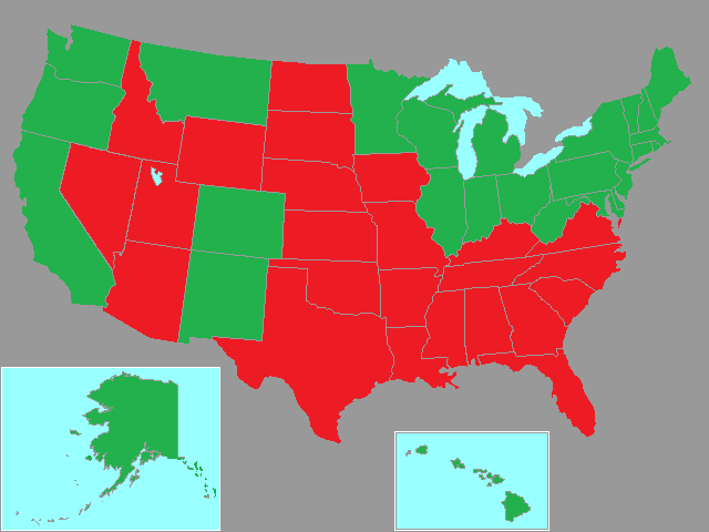 states right: