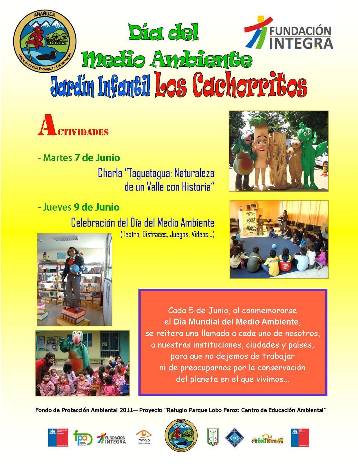 Día del Medio Ambiente con el Jardín Infantil Los Cachorritos