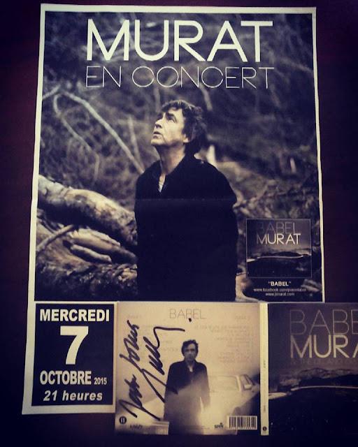Jean-Louis Murat en concert - Album Babel