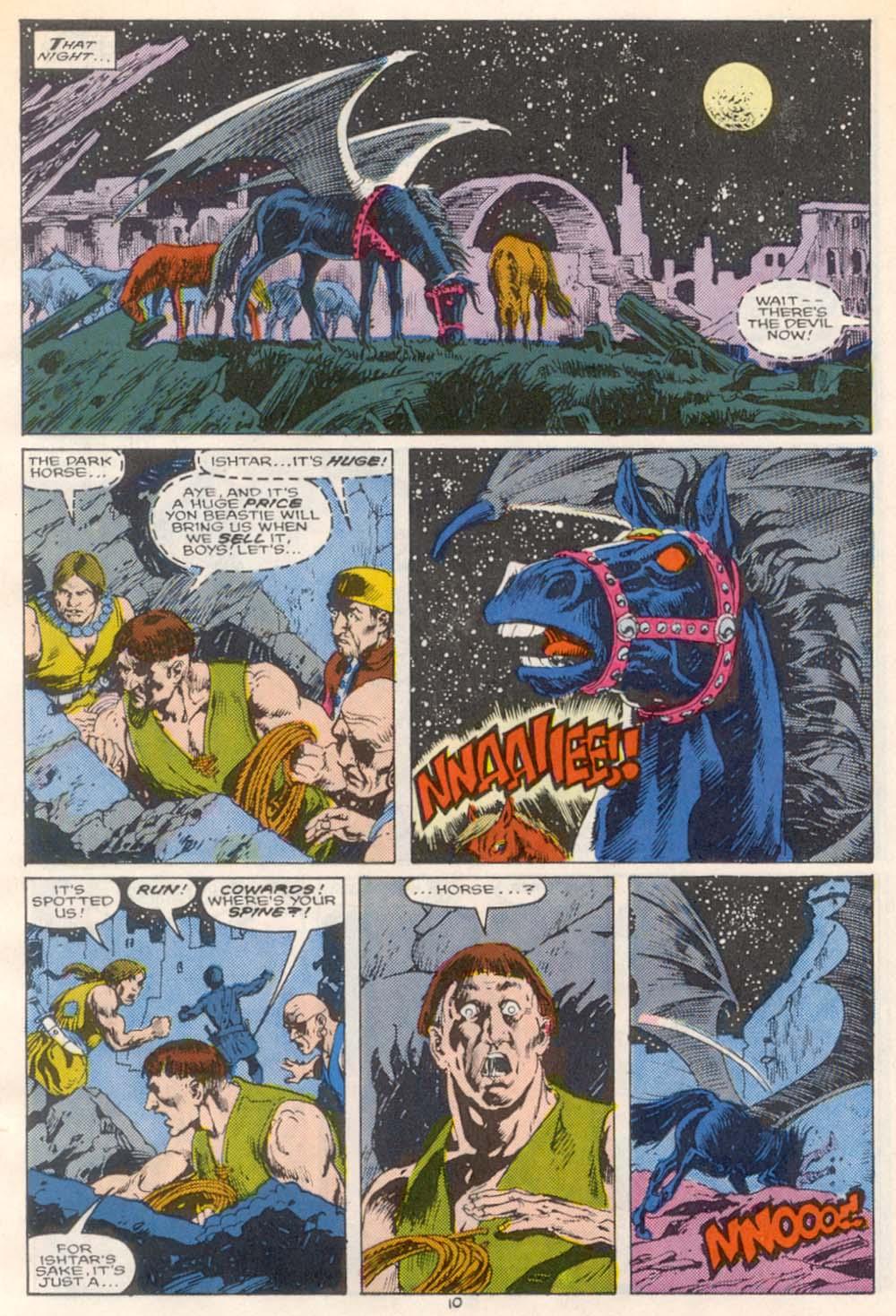 Conan the Barbarian (1970) Issue #209 #221 - English 9