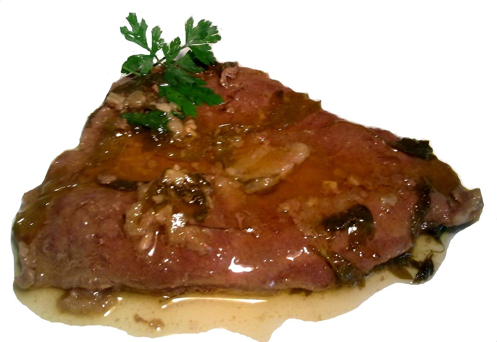 Nuestras recetas familiares filetes de ternera en salsa - Filetes de ternera con salsa ...