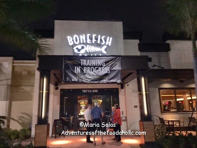 Adventures of the foodaholic new bonefish grill opens in for Bone fish grill locations