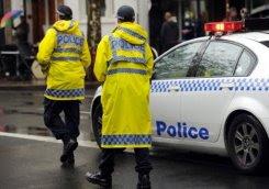 pegawai polis Australia
