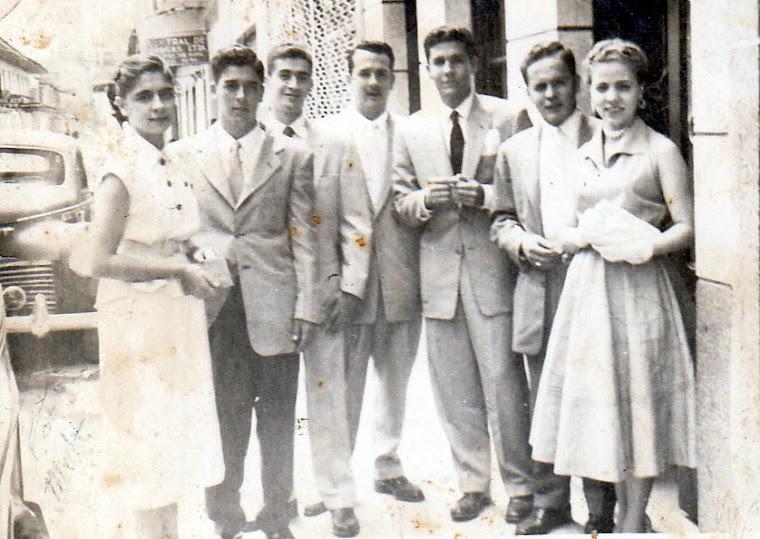 Primos Ossa, Cárdenas, Soto, Peláez  y Mejía. En los años 50 en la ciudad de Pereira