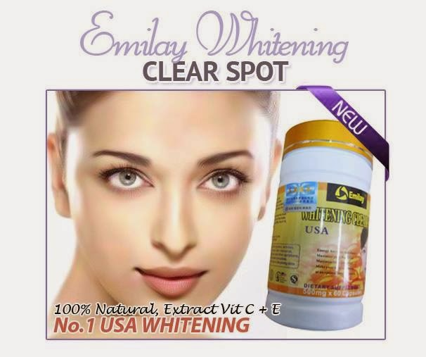 EMILAY WHITENING CLEAR SPOT - OFFER 4 BTL RM100