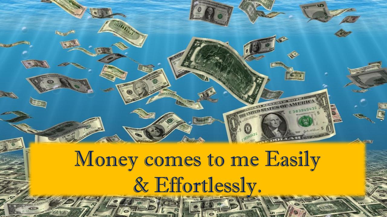 money affirmations everyday affirmations
