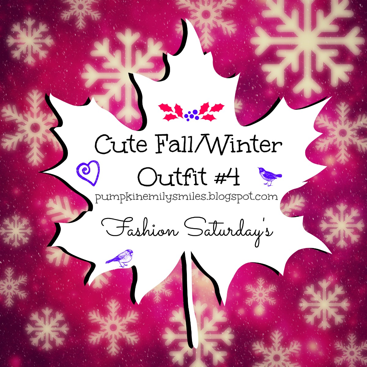 Cute Fall/Winter Outfit #4 Fashion Saturday's