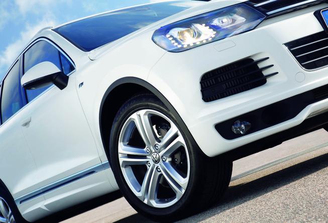 novo  Volkswagen Touareg 2014 rodas