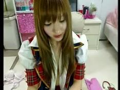 Em gái Hàn Quốc thủ dâm với sex toy