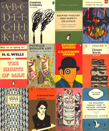 Penguin Book Cover Postcards ~ The illustrated book image collective penguin covers galore